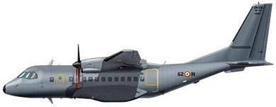 Profil couleur du CASA CN-235/C-295