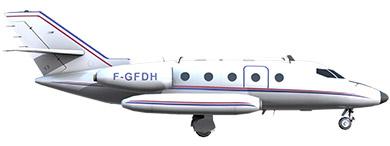 Profil couleur du Aérospatiale SN-601 Corvette