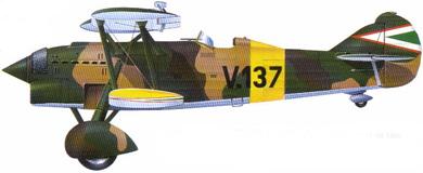 Profil couleur du Fiat CR.32