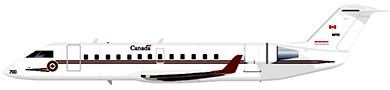 Profil couleur du Bombardier CRJ