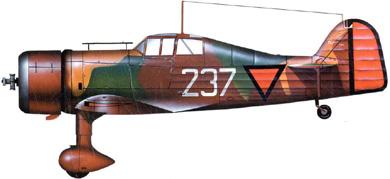 Profil couleur du Fokker D XXI