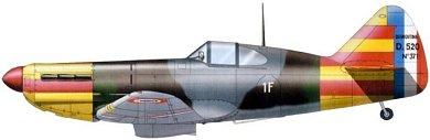 Profil couleur du Dewoitine D.520