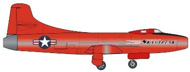 Profil couleur du Douglas D-558-1 Skystreak