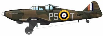 Profil couleur du Boulton Paul P.82 Defiant