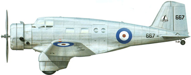 Profil couleur du Canadian Vickers Delta