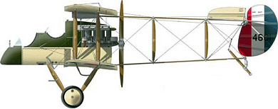 Profil couleur du Airco D.H.1