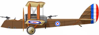 Profil couleur du Airco D.H.10 Amiens
