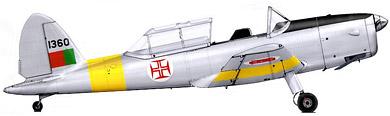 Profil couleur du De Havilland Canada DHC-1 Chipmunk