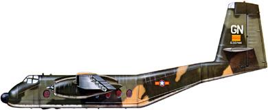 Profil couleur du De Havilland Canada DHC-4 Caribou