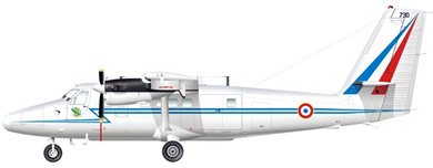 Profil couleur du De Havilland Canada DHC-6 Twin Otter