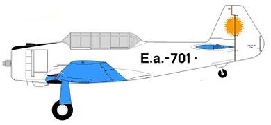 Profil couleur du FMA I.Ae. DL-22