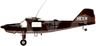 Profil couleur du Dornier Do 27