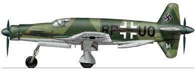 Profil couleur du Dornier Do 335 Pfeil