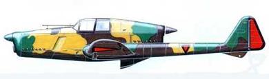 Profil couleur du Fokker D-XXIII