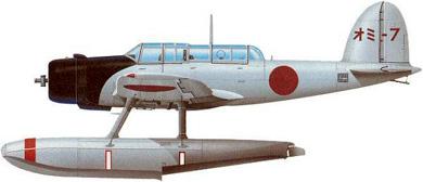 Profil couleur du Aichi E13A  'Jake'