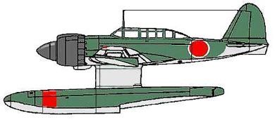 Profil couleur du Kawanishi E15K Shiun 'Norm'