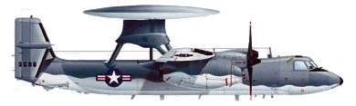 Profil couleur du Grumman E-2 Hawkeye