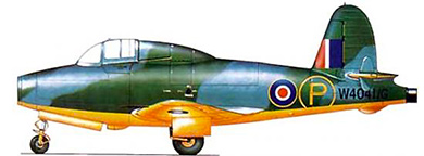 Profil couleur du Gloster E28/39 Whittle