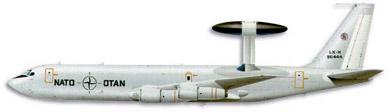 Profil couleur du Boeing E-3 Sentry