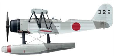 Profil couleur du Kawanishi E7K  'Alf'