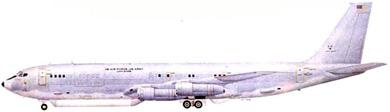 Profil couleur du Boeing E-8 J-Stars