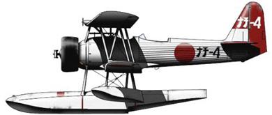 Profil couleur du Nakajima E8N  'Dave'
