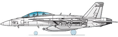 Profil couleur du Boeing EA-18 Growler