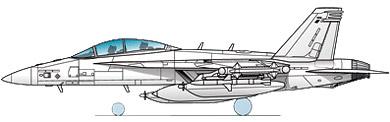 Profil couleur du Boeing EA-18 Growler
