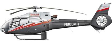 Profil couleur du Eurocopter EC-120 Colibri