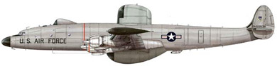 Profil couleur du Lockheed EC-121 Warning Star