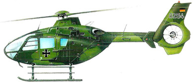 Profil couleur du Eurocopter EC-135/EC-635