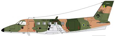 Profil couleur du Embraer  EMB 110/C-95 Bandeirante