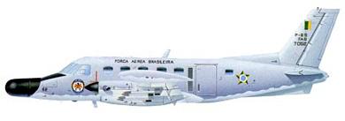Profil couleur du Embraer  EMB 111/P-95 Bandeirulha