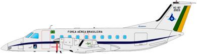Profil couleur du Embraer EMB 120 Brasilia