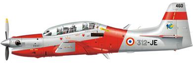 Profil couleur du Embraer  EMB 312 Tucano