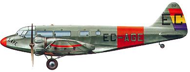 Profil couleur du Airspeed AS.6 Envoy
