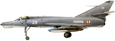 Profil couleur du Dassault  Étendard IV