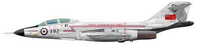 Profil couleur du McDonnell F-101 Voodoo