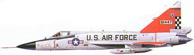 Profil couleur du Convair F-102 Delta Dagger