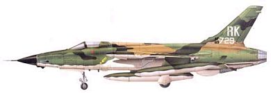 Profil couleur du Republic F-105 Thunderchief