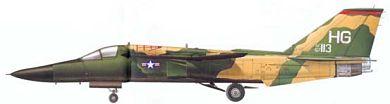 Profil couleur du General Dynamics F-111 Aardvark