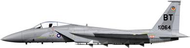 Profil couleur du McDonnell F-15 Eagle