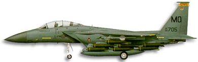 Profil couleur du McDonnell F-15E Strike Eagle