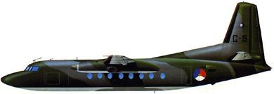 Profil couleur du Fokker F27 Troopship