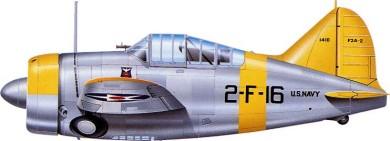 Profil couleur du Brewster F2A Buffalo