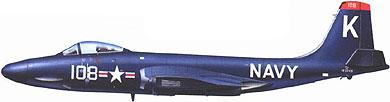 Profil couleur du McDonnell F2H Banshee