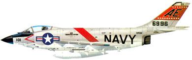 Profil couleur du McDonnell F3H Demon