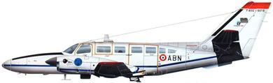 Profil couleur du Reims Aviation F406 Caravan II