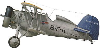 Profil couleur du Boeing F4B
