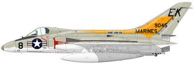 Profil couleur du Douglas F4D Skyray